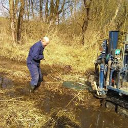 Aanleg 3 x 84'' waterleidingen tracé Bergse Maas - Koops Grondmechanica